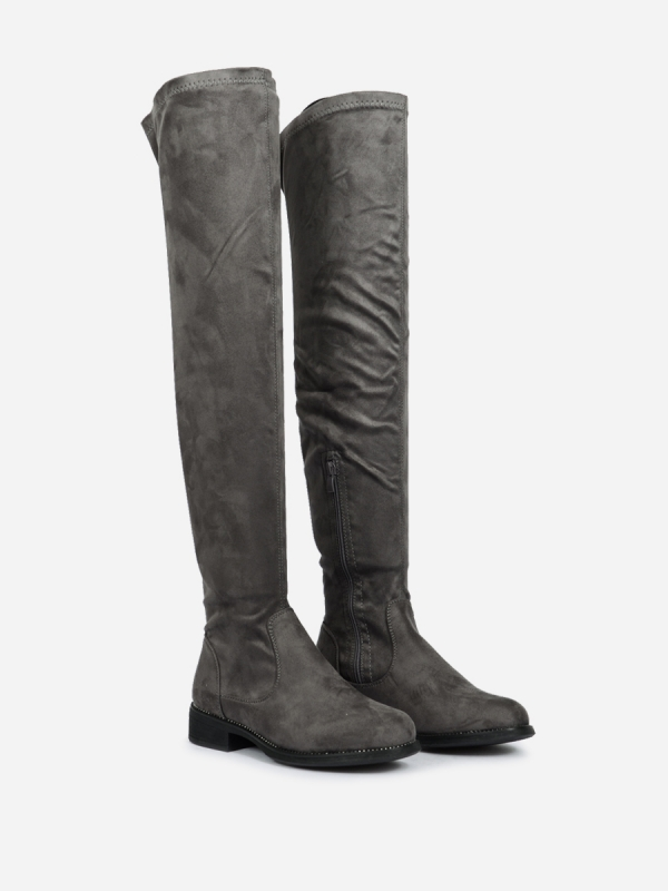 ΓΥΝΑΙΚΕΙΕΣ FLAT OVER THE KNEE BOOTS