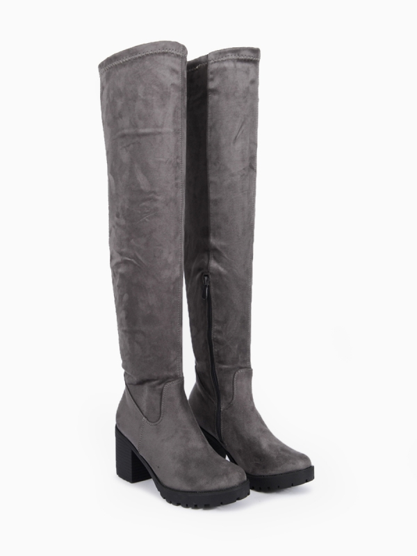 ΓΥΝΑΙΚΕΙΕΣ SUEDE OVER THE KNEE BOOTS