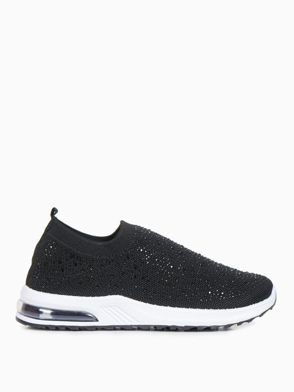 SLIP ON SNEAKERS ΜΕ STRASS ΚΑΙ ΑΕΡΟΣΟΛΑ