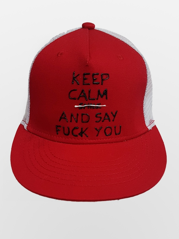 HANDMADE HAT 'KEEP CALM'