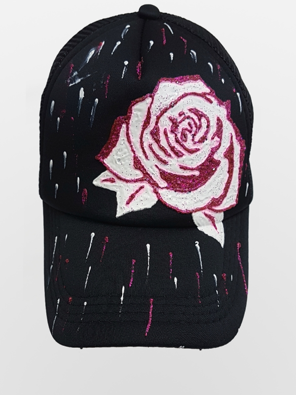 HANDMADE HAT 'ROSE'