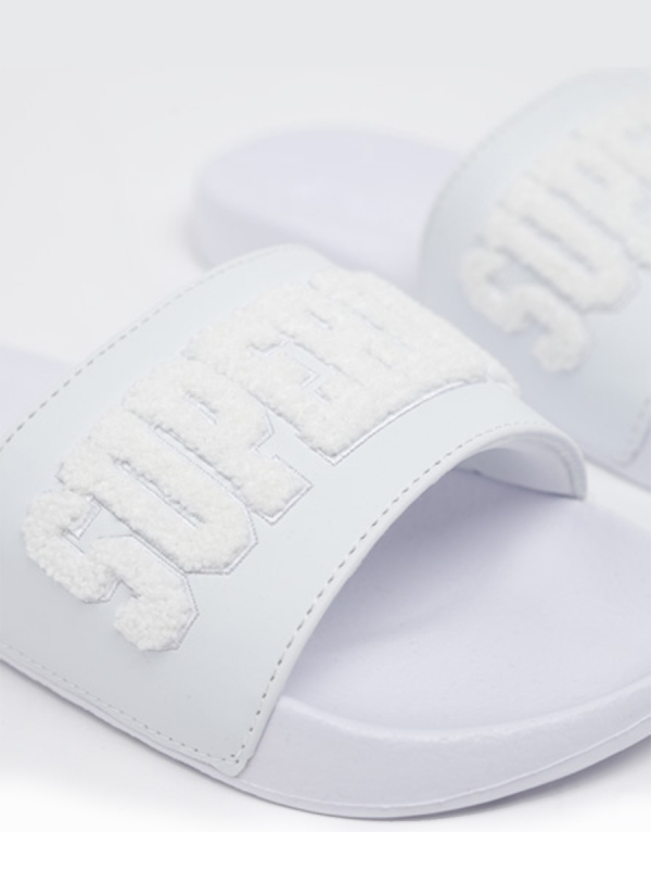 SUPERDRY HIGH BUILD LOGO POOL SLIDERS