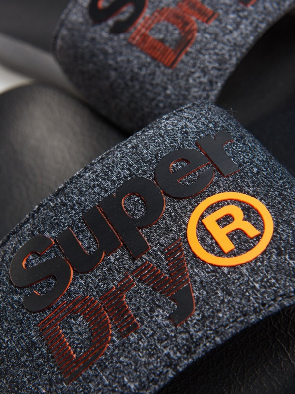 SUPERDRY  LINEMAN POOL SLIDERS