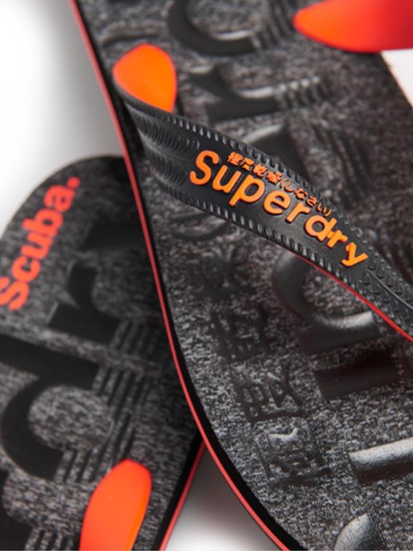 SUPERDRY SCUBA GRIT FLIP FLOP