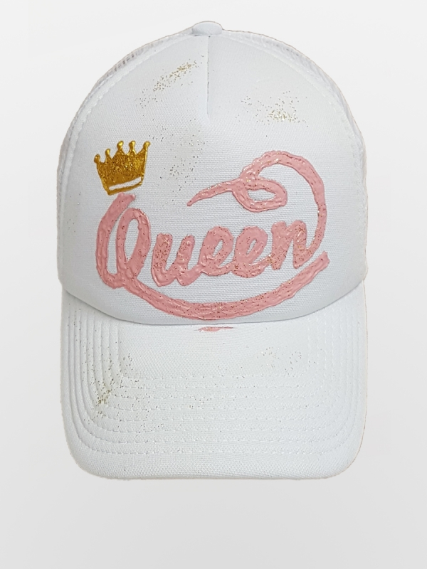 HANDMADE HAT  'QUEEN'